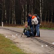 Lijk gevonden A27 parkeerplaats de Bosberg, technische recherche, onderzoek