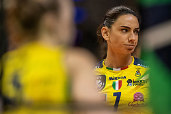 18-05-2019 GER: CEV CL Super Finals Igor Gorgonzola Novara - Imoco Volley Conegliano, Berlin<br /> Igor Gorgonzola Novara take women's title! Novara win 3-1 / Raphaela Folie #7 of Imoco Volley Conegliano