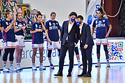 Antonello Restivo, Roberto Zucca<br /> Banco di Sardegna Dinamo Sassari - Umana Reyer Venezia<br /> Legabasket Femminile LBF Techfind Serie A1 2020-2021<br /> Sassari, 21/11/2020<br /> Foto L.Canu / Ciamillo-Castoria