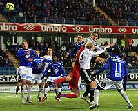 Fotball <br /> Tippeligaen<br /> 14.03.2010 <br /> Molde v Rosenborg   1-2<br /> Aker stadion<br /> Ben Amos - Molde<br /> Mikael Lustig - rosenborg<br /> Mikael Dorsin - rosenborg<br /> Foto:Richard brevik Digitalsport