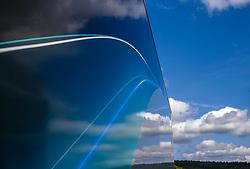 August 24, 2017 - Spa-Francorchamps, Belgium - Motorsports: FIA Formula One World Championship 2017, Grand Prix of Belgium, .Motorhome of Mercedes AMG Petronas F1 Team  (Credit Image: © Hoch Zwei via ZUMA Wire)