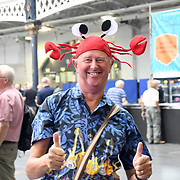 London,England,UK, 8th Aug 2018 : Hundreds of beer drinker continue support the British tradition pub fast disappearing attends the Great British Beer Festival (GBBF) in the hope the come back of British Pub culture at Kensington Olympia, London, UK.
