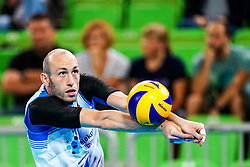 Ziga Stern of Slovenia during volleyball match between Cuba and Slovenia in Final of FIVB Volleyball Challenger Cup Men, on July 7, 2019 in Arena Stozice, Ljubljana, Slovenia. Photo by Matic Klansek Velej / Sportida