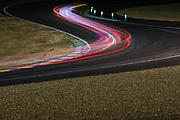 June 8-14, 2015: 24 hours of Le Mans: Long exposure atmosphere, light trails