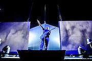 Eros Ramazzotti performing  at Palacio de los deportes in Madrid