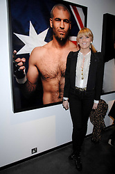 LADY EMILY COMPTON at a private view of Octagan a showcase of work of photographer Kevin Lynch featuring the stars of the Ultimate Fighter Championship held at Hamiltons gallery, Mayfair, London on 17th January 2008.<br />