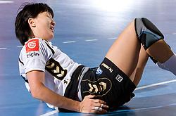 Liudmila Bodnieva of Krim at handball match of Round 2 of Champions League between RK Krim Mercator and Aalborg DH, on October 31, 2009, in Arena Kodeljevo, Ljubljana, Slovenia.  Krim won 30:23. (Photo by Vid Ponikvar / Sportida)