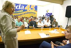 Zila Breitenbach assume a presidencia do PSDB-RS. FOTO: Jefferson Bernardes/Preview.com