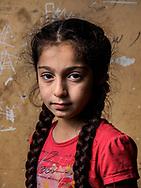Suzan, age 10, from Syria (Kurdish).