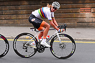 Women Road Race 129,4 km, Chantal Blaak (Netherlands), during the Cycling European Championships Glasgow 2018, in Glasgow City Centre and metropolitan areas, Great Britain, Day 4, on August 5, 2018 - Photo Dario Belingheri / BettiniPhoto / ProSportsImages / DPPI - Belgium out, Spain out, Italy out, Netherlands out -