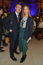BEN GOLDSMITH and JEMIMA JONES at the Quintessentially Foundation and The Crown Estate's Fayre of St.James' on 27th November 2014.  The evening started with a christmas concert at St.James's Church, Piccadilly.  Following the concert singer Leona Lewis switched on the Jermyn Street Christmas lights and then guests had a party at the newly refurbished Quaglino's, 16 Bury Street, London