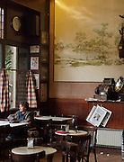 A quiet, local cafe in San Sebastian, Spain