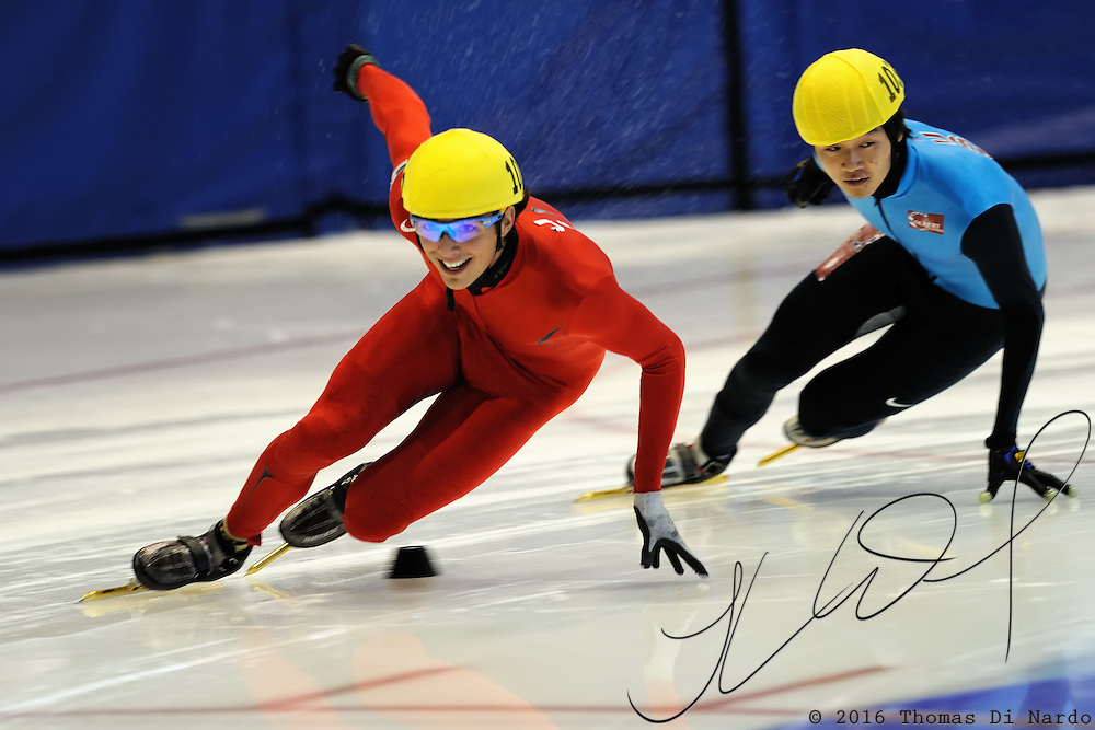 September 11, 2010 - Kearns, Utah - Desert Classic short track speedskating competition held at the Utah Olympic Oval.