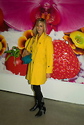 ELIZABETH THURN UND TAXIS, 'Evolution', an exhibition of work by Marc Quinn. White Cube. Masoin's Yard. London. 24 January 2008. -DO NOT ARCHIVE-© Copyright Photograph by Dafydd Jones. 248 Clapham Rd. London SW9 0PZ. Tel 0207 820 0771. www.dafjones.com.