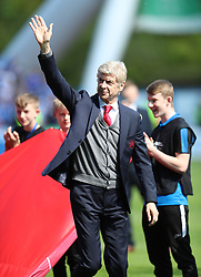 Arsenal manager Arsene Wenger before the Premier League match at the John Smith's Stadium, Huddersfield.