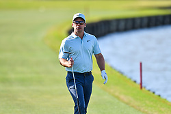 March 21, 2018 - Austin, TX, U.S. - AUSTIN, TX - MARCH 21: Paul Casey walks up the fairway during the First Round of the WGC-Dell Technologies Match Play on March 21, 2018 at Austin Country Club in Austin, TX. (Photo by Daniel Dunn/Icon Sportswire) (Credit Image: © Daniel Dunn/Icon SMI via ZUMA Press)