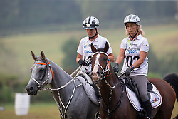 Boulanger Carine, BEL, Tawfiq Du Courtisot, Schuiten Louna, BEL, Sabah Du Courtisot<br /> World Equestrian Games - Tryon 2018<br /> © Hippo Foto - Dirk Caremans