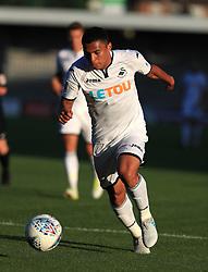 12 July 2017 Pre-season friendly football : Barnet v Swansea City :<br /> Jefferson Montero of Swansea.<br /> Photo: Mark Leech