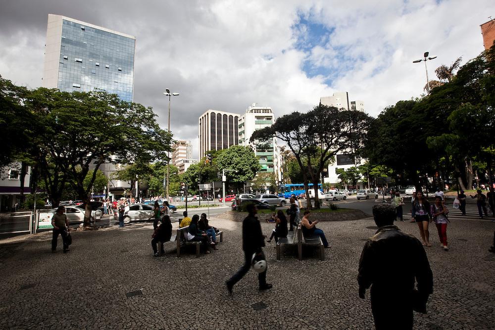 Belo Horizonte_MG, Brasil...Estatuas, criadas pelo artista plastico Leo Santana no centro de Belo Horizonte, Minas Gerais...Statues, It was designed by the artist Leo Santana in Belo Horizonte, Minas Gerais...Foto: NIDIN SANCHES / NITRO