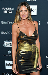 Model Heidi Klum attends the Harper's Bazaar Icons by Carine Roitfeld celebration at The Plaza Hotel in New York, NY on September 8, 2017.  (Photo by Stephen Smith/SIPA USA)