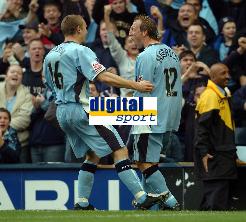Fotball<br /> England 2004/2005<br /> Foto: SBI/Digitalsport<br /> NORWAY ONLY<br /> <br /> 30.10.2004<br /> Coventry City v Reading <br /> Coca Cola Championship<br /> <br /> Andy Morrell celebrates scoring the second goal for Cov.