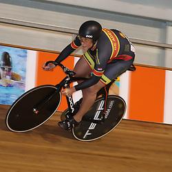 28-12-2017: Wielrennen: NK Baan: Alkmaar <br />Elis Ligtlee op de sprint