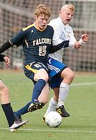 Boys varsity soccer Gilford versus Bow State Championship November 6, 2010.