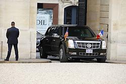 July 13, 2017 - Paris, france - arrivee de donald trump president americain   a l elysee (Credit Image: © Panoramic via ZUMA Press)