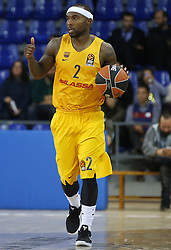 January 19, 2017 - Barcelona, Catalonia, Spain - Tyrese Rice during the match between FC Barcelona and Anadolu Efes, corresponding to the week 17 of the Euroleague, on 19 January  2017. (Credit Image: © Joanvalls/NurPhoto via ZUMA Press)
