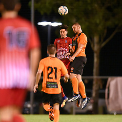 BRISBANE, AUSTRALIA - APRIL 7:  during the FQPL Senior Men's Round 9 match between Eastern Suburbs and Holland Park Hawks on April 7, 2018 in Brisbane, Australia. (Photo by Eastern Suburbs / Patrick Kearney)