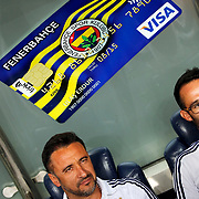 Fenerbahce's headcoach Vitor Pereira before their UEFA Champions league third qualifying round first leg soccer match Fenerbahce between Shakhtar Donetsk at the Sukru Saracaoglu stadium in Istanbul Turkey on Tuesday 28 July 2015. Photo by Aykut AKICI/TURKPIX