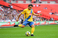 Ashleigh James of Thatcham Town (17) in action during the FA Vase match between Stockton Town and Thatcham Town at Wembley Stadium, London, England on 20 May 2018. Picture by Stephen Wright