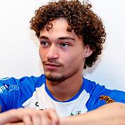 NLD/Zwolle/20180418 - Johnny de Mol onthult de nieuwe Eredivisiebal, ..........