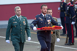 12.10.2015, Madrid, Madrid, ESP, Spanischer Nationalfeiertag, Royals, im Bild Spanish National Day // during the celebration of the Spanish National Day military parade in Madrid in Madrid, Spain on 2015/10/12. EXPA Pictures © 2015, PhotoCredit: EXPA/ Alterphotos/ Victor Blanco<br /> <br /> *****ATTENTION - OUT of ESP, SUI*****