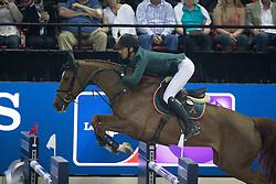 Guerdat Steve, (SUI), Albfueren S Paille<br /> Longines FEI World Cup™ Jumping Final III round 1<br /> Las Vegas 2015<br />  © Hippo Foto - Dirk Caremans<br /> 19/04/15