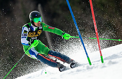 BOZIC Borut of Slovenia during the Audi FIS Alpine Ski World Cup Men's Slalom 58th Vitranc Cup 2019 on March 10, 2019 in Podkoren, Kranjska Gora, Slovenia. Photo by Matic Ritonja / Sportida
