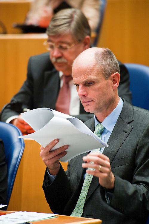 Nederland, Den Haag, 21 sept   2011.Algemene Politieke Beschouwingen in de tweede kamer..VVD fraktieleider Stef Blok .Foto (c): Michiel Wijnbergh