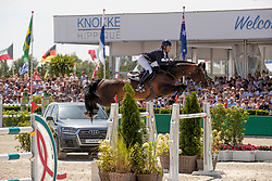 Mathy Kenny Darragh, IRL, Balou du Reventon<br /> Grand Prix Rolex powered by Audi <br /> CSI5* Knokke 2019<br /> © Dirk Caremans<br /> Kenny Darragh, IRL, Balou du Reventon