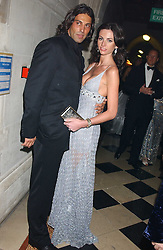 Model MARIE DONOHUE and YANIS at Andy & Patti Wong's annual Chinese New Year party, this year celebrating the year of the dog held at The Royal Courts of Justice, The Strand, London WC2 on 28th January 2006.<br /><br />NON EXCLUSIVE - WORLD RIGHTS
