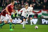 Fotball<br /> UEFA European Championship Play off<br /> Ungarn v Norge / Hungary v Norway<br /> 15.11.2015<br /> Foto: Anders Hoven/Digitalsport<br /> <br /> Martin Ødegaard