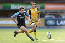 Jackson Willison of Worcester Warriors - Mandatory by-line: Dougie Allward/JMP - 04/02/2017 - RUGBY - BT Sport Cardiff Arms Park - Cardiff, Wales - Cardiff Blues v Worcester Warriors - Anglo Welsh Cup