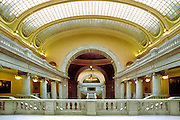 Interior: Utah state capitol in Salt Lake City, UT