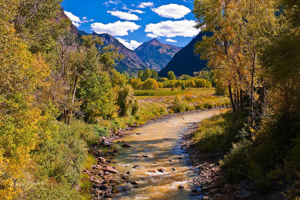 The Uncompahgre River, Uncompahgre National Forest, Colorado