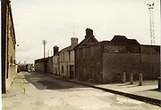 Old amateur photos of Dublin streets churches, cars, lanes, roads, shops schools, hospitals, Streetscape views are hard to come by while the quality is not always the best in this collection they do capture Dublin streets not often available and have seen a lot of change since photos were taken Irish Yeast co. Bowes Pub Fleet st, Murray's Pub Sean McDermott st, Summer st place, April 1983