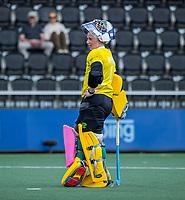 AMSTELVEEN -  keeper Ayeisha McFerran (Ier) na  de wedstrijd dames , Ierland-Engeland (1-5) bij het  EK hockey , Eurohockey 2021.COPYRIGHT KOEN SUYK