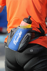 12.04.2015, Wien, AUT, Vienna City Marathon 2015, im Bild Trinkflasche eines Läufers, Feature // during Vienna City Marathon 2015, Vienna, Austria on 2015/04/12. EXPA Pictures © 2015, PhotoCredit: EXPA/ Gerald Dvorak