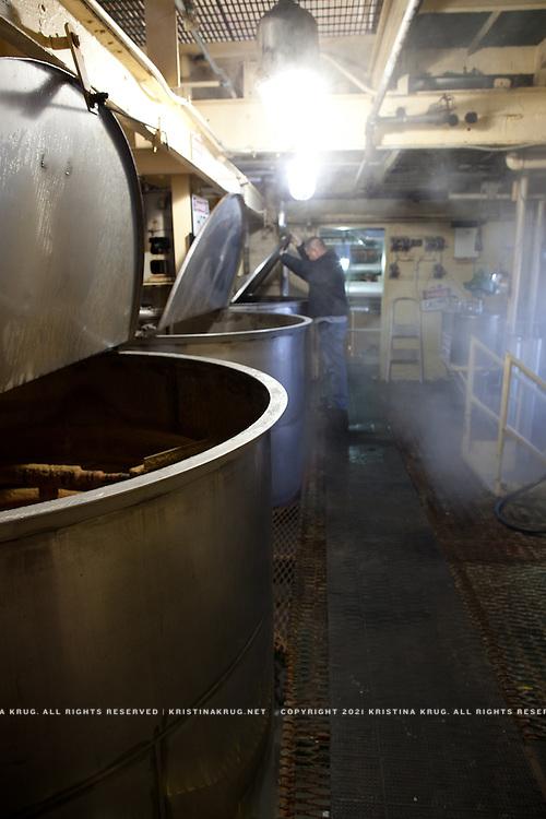 Four Roses Bourbon Distillery Yeast Room
