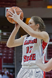03 January 2014:  Lindsay Smith during an NCAA women's basketball game between the Drake Bulldogs and the Illinois Sate Redbirds at Redbird Arena in Normal IL