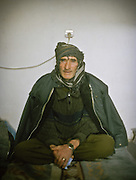Visit of a rehab center for opium addict in Khandud. Portraits of patients, all Wakhis. Afghanistan