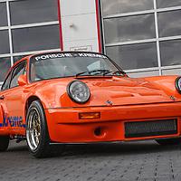 Kremer Porsche 911 RSK 3l (2006) (Jägermeister orange), here photographed at Kremer in 2008